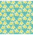Seamless colorful pattern with spring vector image