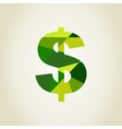Dollar6 vector image