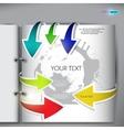 page spread vector image vector image