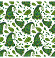 decorative indian seamless pattern vector image