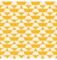 Yellow color blocked pattern vector image