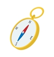 Compass cartoon icon vector image