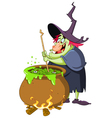 witch brew vector image