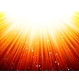 Sunburst rays of sunlight tenplate EPS 10 vector image vector image