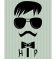 to be hip vector image vector image