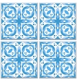 Brown ceramic tile vector image
