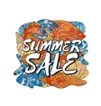 Summer Sale Poster design template Elements are vector image