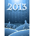 card new year vector image vector image