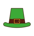Irish elf hat icon vector image
