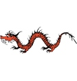 old dragon vector image vector image