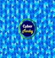 Cyber Monday Label- vector image