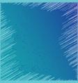 geometric pattern fashion graphic blue vector image