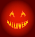 Halloween ghost vector image