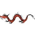 old dragon vector image