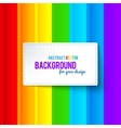 Bright colorful rainbow stripes background vector image