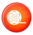 Film icon flat style vector image