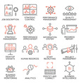 Strategy Management System icons - 2 vector image