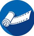 Camera Film Roll Icon vector image vector image