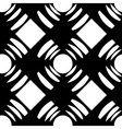 seamless pattern with squares and circles vector image vector image