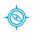 compass icon or logo vector image