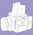 film camera vector image vector image