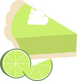Lime Pie vector image