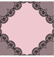 Background with black lacy elements vector image