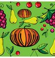 natural food print vector image