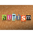 Autism Concept vector image