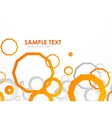 Geometrical colorful abstract background vector image
