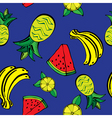 fruits pattern3 vector image