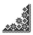 angle frame pattern vector image