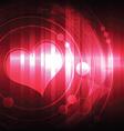 cardiograph vector image