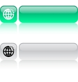 internet web button vector image