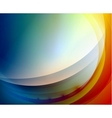 Aqua waves abstract background vector image vector image