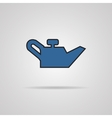 container of engine oil icon vector image