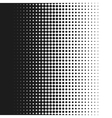 Dotted background white and vector image