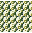 ying yang pattern on background vector image vector image