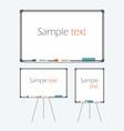 Empty Whiteboard vector image