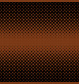 geometric halftone dot background - graphic from vector image
