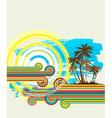 beach 05 01 vector image