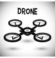 Drone icon design vector image