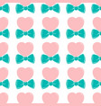 fashion hipster cute seamless pattern with pink vector image