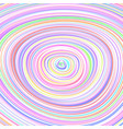 colorful random rings vector image