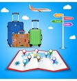 picture of travel bags vector image