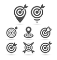 Trendy Target icon for business and interface vector image