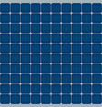 solar cells seamless pattern for roof solar power vector image