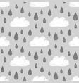 rainy weather pattern vector image