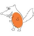 Funny fox vector image vector image