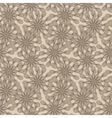 seamless floral monochrome pattern vector image vector image